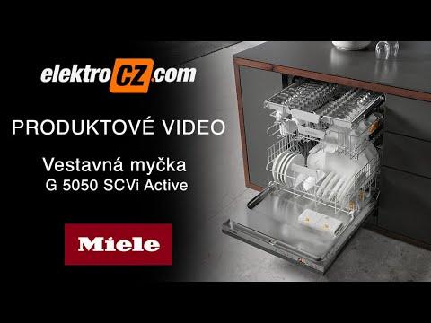 Vestavná myčka nádobí Miele G 5050 SCVi Active