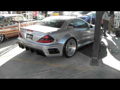 DUBSandTIRES.com 2011 Mercedes SL Review 22 inch Silver Forgiato Custom wheels Asanti Forgiato Rims
