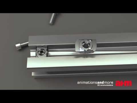 3D Animation Befestigungselemente