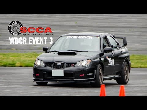 SCCA WDCR Event 3 - Fedex Field Stadium (STU)