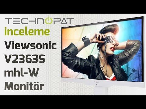 Viewsonic VX2363Smhl-W Monitör İncelemesi