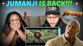 """JUMANJI: THE NEXT LEVEL"" Official Trailer REACTION!!!"