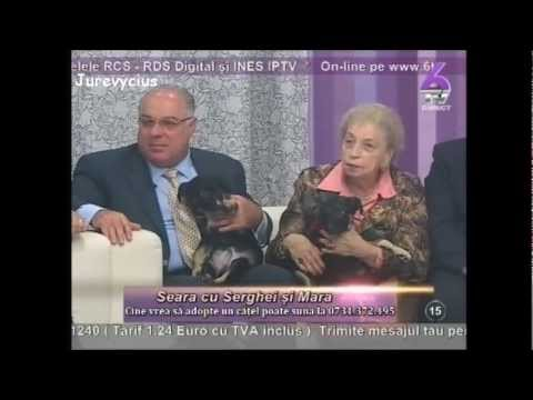 eara cu Serghei si Mara - Marius Marinescu si Paula Iacob (20 martie 2012) 6TV part.1