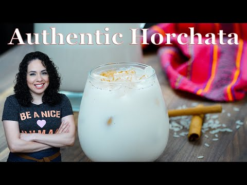 Traditional Mexican HORCHATA Recipe