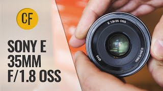 Sony 35mm f/1.8 OSS lens review with samples