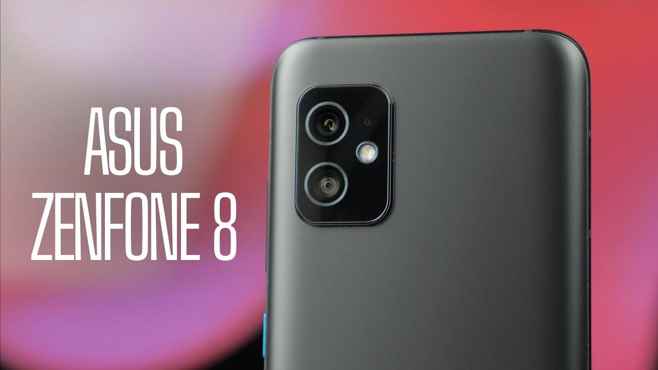 Asus ZenFone 8 8/128GB Obsidian Black (ZS590KS-2A007EU) video preview
