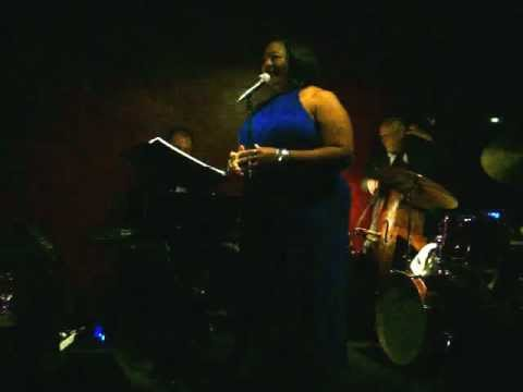 """Cynthia """"CynSingsJazz"""" Simmons sings """"My Funny Valentine"""" at Ciao' 8/31/2012"""
