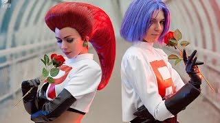 "Team Rocket - ""Double-Trouble"" - Pokémon cosplay"
