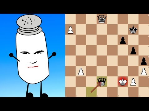 Mystery player enters a highly-ranked online chess tournament and easily destroys the other Grandmasters. He also happens to be the World Champion.