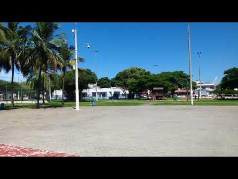 Maior praca do Brasil, aracas em vila velha es