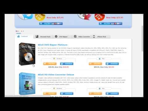 WinX DVD Ripper Platinum Review - смотреть онлайн на Hah Life