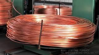 Copper Rod Upward Continuous Casting Machine Copper Wire Production Line