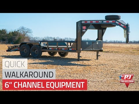 2021 PJ Trailers 6 in. Channel Equipment (CC) 20 ft. in Acampo, California - Video 1