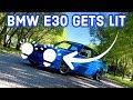 1984 BMW E30 new lights + Halos