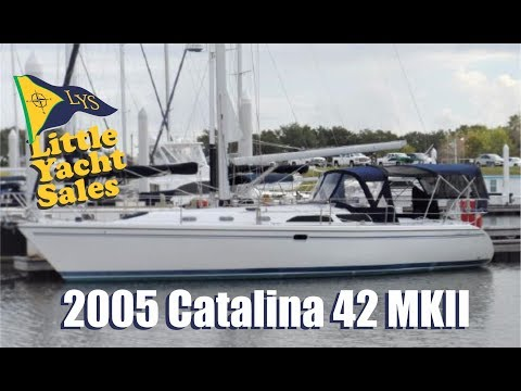 2005 Catalina 42 MKII Sailboat for sale at Little Yacht Sales, Kemah Texas