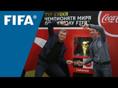 On the Road with the FIFA World Cup™ Trophy Tour by Coca Cola