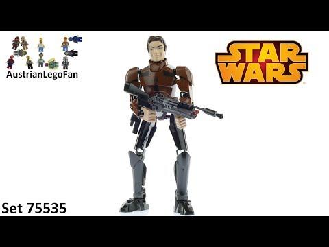 Vidéo LEGO Star Wars 75535 : Han Solo (Buildable Figures)