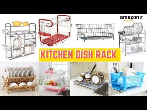 Best Kitchen Dish Drainers in India I Dish Drying Racks on Amazon