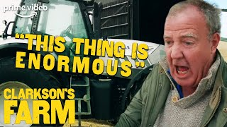 Jeremy Clarkson Discovers a Problem with His Lamborghini Tractor | Clarkson's Farm | The Grand Tour