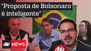 Constantino: Proposta de Bolsonaro para itens da cesta básica é melhor do que pressionar empresários