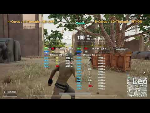 What chip is better for PUBG: i5 3570k? or i7 3770k