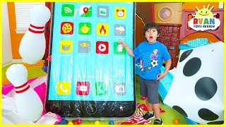 Giant Surprise Toys with Huge Ipad for Ryan!!! - Video Youtube