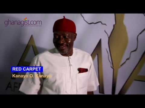 Red Carpet: Kanayo O. Kanayo at AMAA | GhanaGist.Com Video