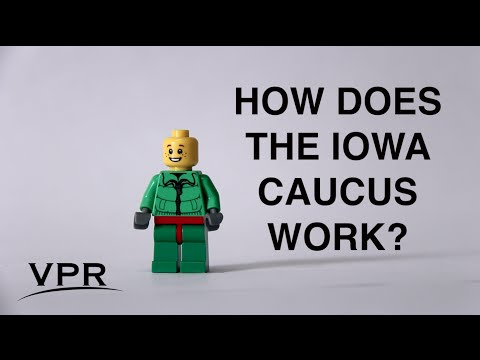 How The Iowa Caucus Works, Explained By Lego