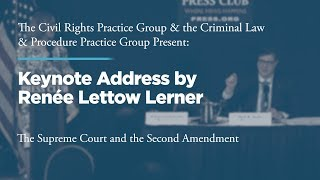 Click to play: Lunch and Keynote Address by Renée Lerner