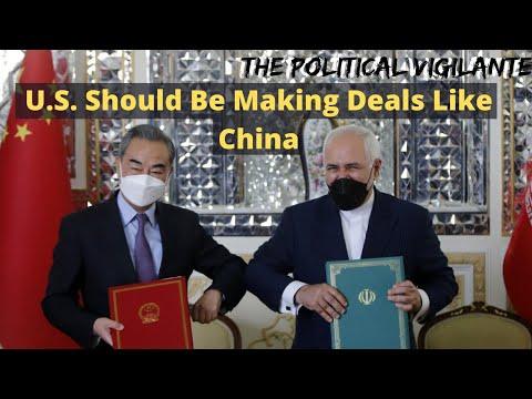 China Makes Iran Deal While US Pushes War