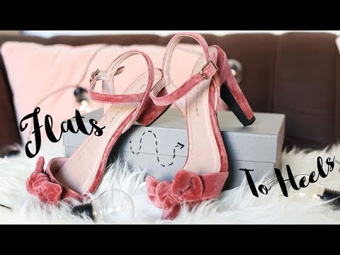 I Bought Shoes With Interchangeable Heels | Mime Et Moi Unboxing Review | From Flats to Heels