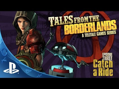 Tales from the Borderlands Episode 3 - Catch a Ride Trailer | PS4, PS3 thumbnail