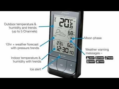 Estación meteorológica con Bluetooth Weather & Home, Oregon Scientific