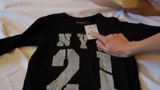 Заказ детской одежды с сайта NEXT, сравнение размеров. [VARENJE7]
