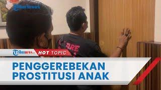 Detik-detik Polisi Gerebek Prostitusi Anak di Bawah Umur di Tanjung Priok, Nyamar Jadi Room Service