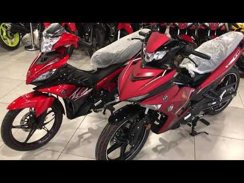Yamaha 135LC (v6) & Y15ZR (v2) - Red 2019 (Comparison)