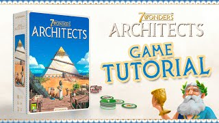TUTORIAL VIDEO   How to play 7 Wonders Architects in 8 minutes