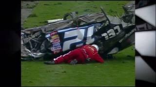 2010 NASCAR On FOX Top 10 Crashes (Part 1)