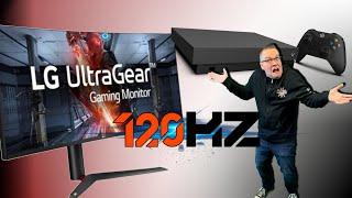 Xbox One X 120Hz?  How does it work?