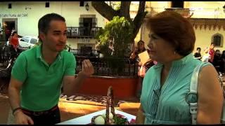 La ruta del sabor - Enchiladas de jumil. Mole rosa Santa Prisca. Taxco, Guerrero