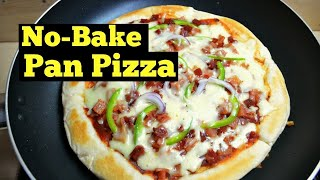 Homemade Pizza Without Oven (No Bake Pizza)