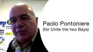 Paolo Pontoniere - for Unite the two Bays