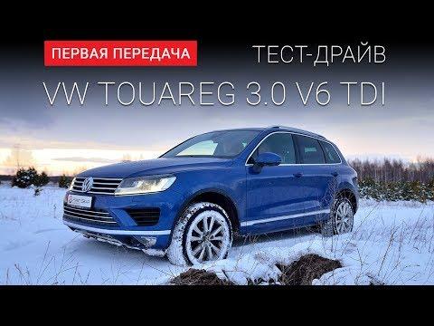 Volkswagen  Touareg Внедорожник класса J - тест-драйв 4