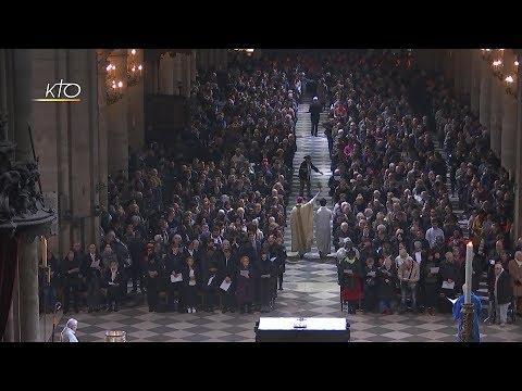 Messe de la Résurrection à Notre-Dame de Paris