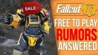 Is Fallout 76 Quietly Going Free to Play? - Bethesda's Response
