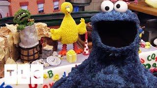 SESAME STREET 40th Anniversary Cake   Cake Boss