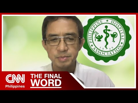 [CNN PH]  Hospital group:_COVID-19 referral hospitals at moderate risk | The Final Word