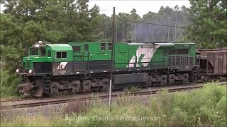 HD - Trens em Ponta Grossa/PR - 13/02/2018
