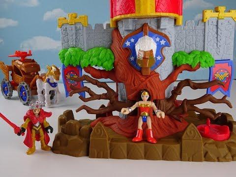 Imaginext Wonder Women paradise home Themyscira.