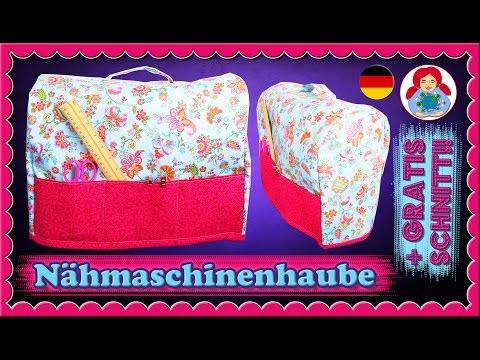 DIY | Nähmaschinenhaube + GRATIS Schnittmuster!!! • Sami Doll Tutorials